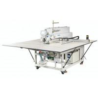MAQI M9-90SY-LC програмована машина циклічного шиття з лазером, робоче поле машини 1300 х 840 мм